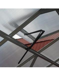 Šiltnamio stoglangio automatinis atidarytuvas VENTOMAX, cinko spalva