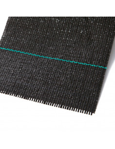 Polipropileno audinys PP juodas 3.27m 99g/m2 [100m]