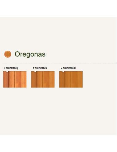 Impregnantas medienai Pinotex Classic AE, spalva Oregonas, kiekis 10L