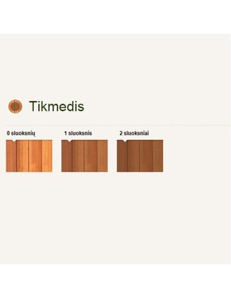 Impregnantas medienai Pinotex Classic AE, spalva Tikmedis, kiekis 10L