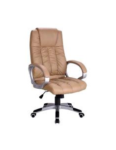 Kėdė biurui BOSS (kreminė)