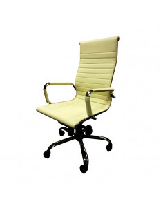 Kėdė biurui FOSSE (kreminė)