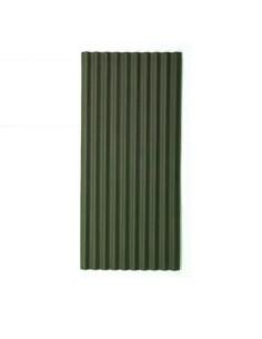 Bituminis banguotas lakštas Corrubit, Žalia spalva