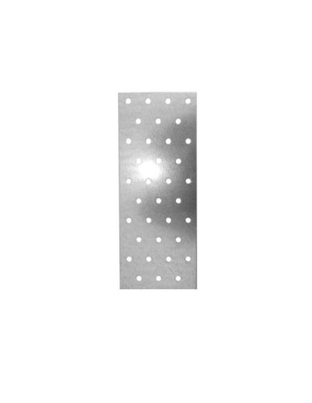 Plokštelė montažinė medžio konstrukcijų sujungimui 100x240x2mm