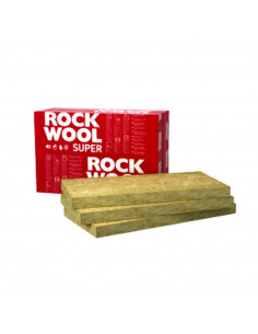 Vata akmens ROCKWOOL SUPERROCK 100mm 1000x565 (4.52m2)