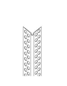 Kampas glaistymo aliuminis 90° 2.0m padidinto tvirtumo