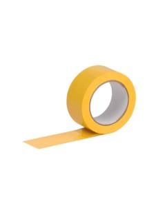 Apsauginė juosta PVC rifliuota plotis 38mm, ilgis 33m