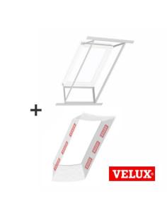 Stogo lango vidaus apdailos rėmas ir garų izoliacija, komplektas LSG1000 su BBX0000 VELUX 55x78cm CK02