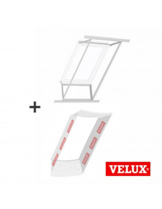 Stogo lango vidaus apdailos rėmas ir garų izoliacija, komplektas LSG1000 su BBX0000 VELUX 66x140cm FK08