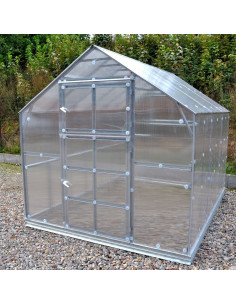Šiltnamis KLASIKA HOUSE 2, 2.35x4.12m (9.68m2) su polikarbonatine danga 6mm