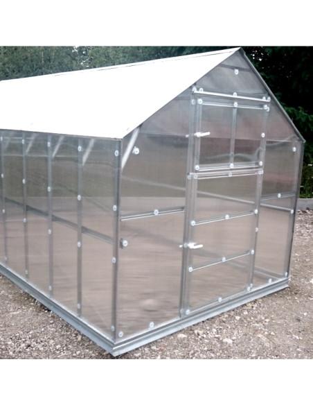 Šiltnamis KLASIKA HOUSE 2, 2.35x8.12m (19.08m2) su polikarbonatine danga 6mm