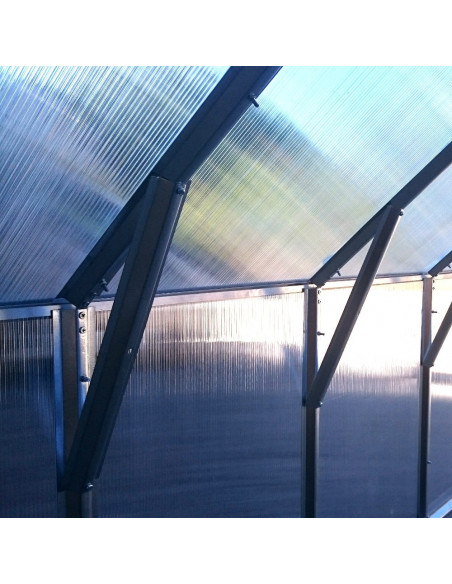 Šiltnamis KLASIKA HOUSE 2, 2.35x10.12m (23.78m2) su polikarbonatine danga 6mm