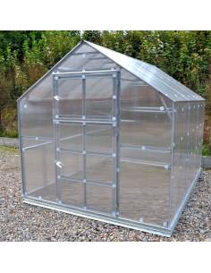 Šiltnamis KLASIKA HOUSE 3, 2.35x5.17m (12.15m2) su polikarbonatine danga 6mm