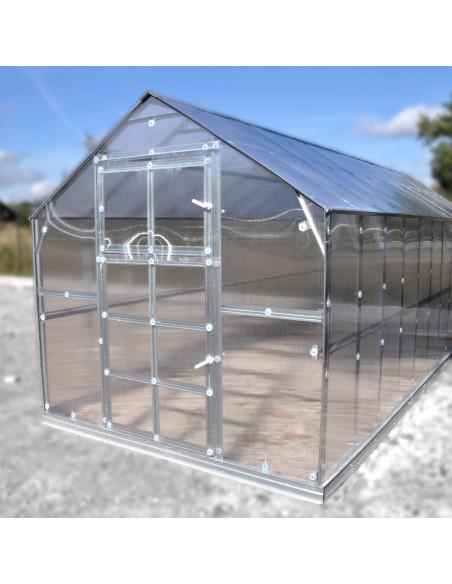 Šiltnamis KLASIKA HOUSE 3, 2.35x11.17m (26.25m2) su polikarbonatine danga 6mm
