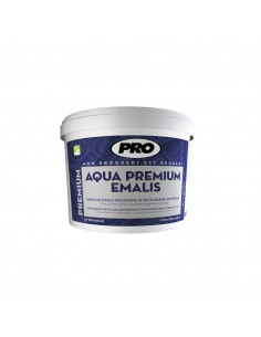 Dažai akrilinis emalis AQUA PREMIUM medienai ir metalui, balta blizgi, 0.75L