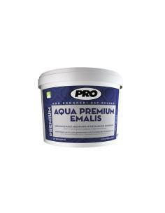 Dažai akrilinis emalis AQUA PREMIUM medienai ir metalui, geltona blizgi, 0.75L
