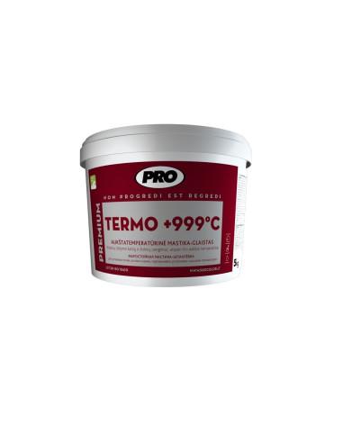 Aukštatemperatūrinė mastika-glaistas PRO.TERMO 1 kg