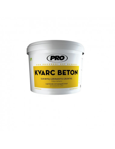 Gruntas KVARC BETON 1.5 kg