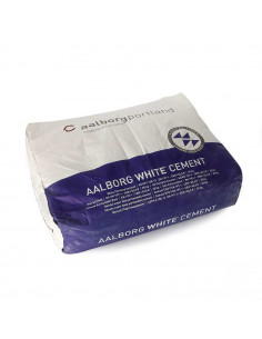 Cementas Baltas Aalborg White CEM I 52.5 R 25kg (Danija)