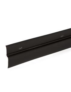 Drenažinės membranos užbaigimo profilis, juodos spalvos, ilgis 2.0m
