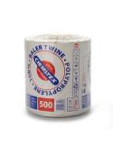 Špagatas polipropileninis, baltas, 2000tex, ilgis 2000m, 4kg