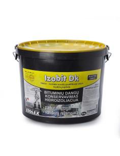 Bitumo-kaučiuko mastika tirpiklių pagrindu IZOBIT DK 10kg