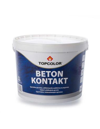 Specialus gruntas, neįgeriantiems paviršiams Beton Kontakt Topcolor 15kg