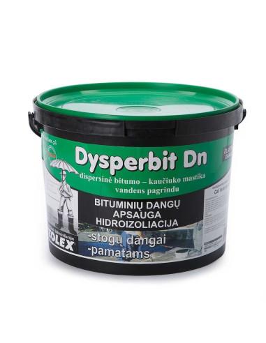 Bitumo-kaučiuko mastika vandens pagrindu DYSPERBIT DN 10kg
