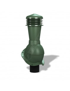 Ventiliacijos kaminėlis Perfekta K-53 Žalias RAL6020