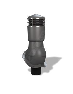 Ventiliacijos kaminėlis Perfekta K-55 Grafito RAL7024