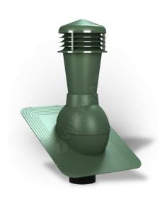 Ventiliacijos kaminėlis bituminei dangai Standart K-21 Žalias RAL6020