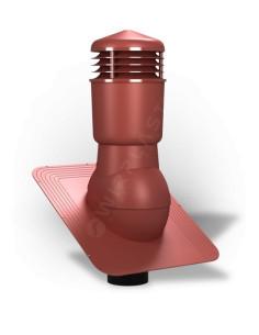 Ventiliacijos kaminėlis bituminei dangai Standart K-22 Raudonas RAL3009