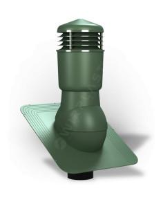 Ventiliacijos kaminėlis bituminei dangai Standart K-22 Žalias RAL6020