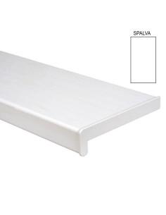 Palangė PVC, plastikinė, plotis 250mm, balta spalva