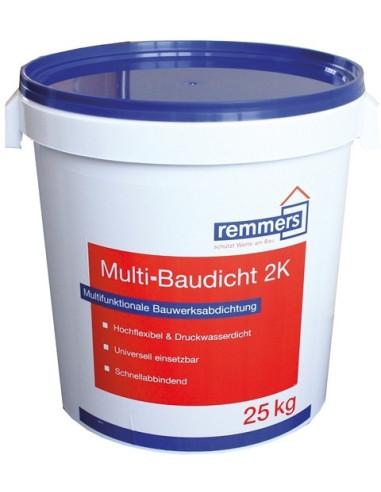 Dviejų komponentų elastinga hidroizoliacija Remmers Multi-Baudicht 2K, 25kg