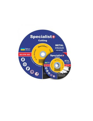 Diskas metalo pjovimui Specialist LongLife 125x1.2x22