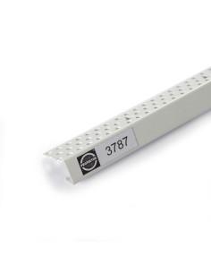 PVC apsauginis užbaigimo profilis 3787 skirtas 12,5mm GKP krašto apdailai 3.05m