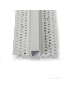 PVC profilis dekoratyviniams grioveliams formuoti
