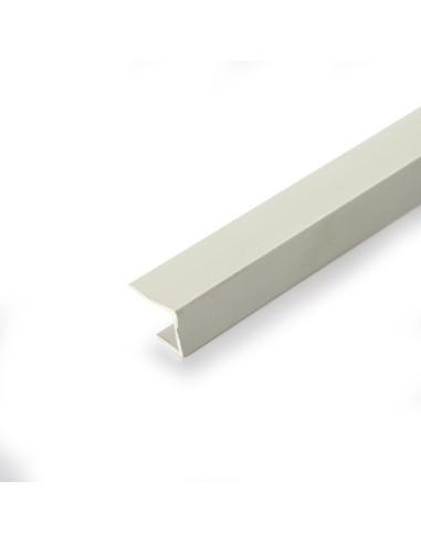 PVC profilis G/K kraštams, užbaigimo detalė 12,5 J, ilgis 3.0m