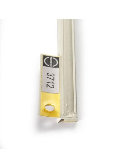 PVC profilis skirtas angokraščių apdailai tiek patalpų viduje, tiek išorėje 3712 2.6m