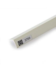Kombinuotas PVC užbaigimo profilis, naudojamas užapvalintų konstrukcijų sandūrose 3769 2.5m