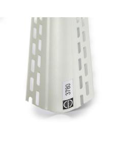 PVC profilis, skirtas suapvalintam vidiniam kampui suformuoti 3780 3.05m