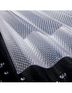 Polikarbonatas korėtas Diamonds 1.045 x 2m skaidrus