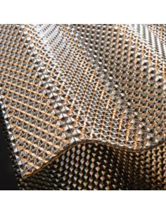 Polikarbonatas korėtas Diamonds 1.045 x 4m bronzinis