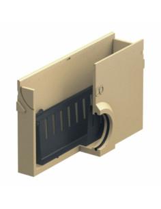 Polimerbetonio įtekėjimo dėžė be grotelių, su nešvarumų indu ACO Euroline be grotelių [0,5 m] 38503