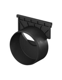 Galinė sienutė, juoda ACO latakui (kanalui) Hexaline 319289