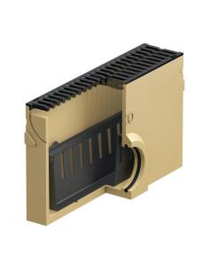 Polimerbetonio latako (kanalo) ACO Euroline/Hexaline įtekėjimo dėžė su ketaus grotelėmis [0,5m] 38708