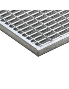 Batų valymo grotelės cinkuoto plieno 9 x 31 mm tinklelis, 100 x 50 cm ACO Vario 01209