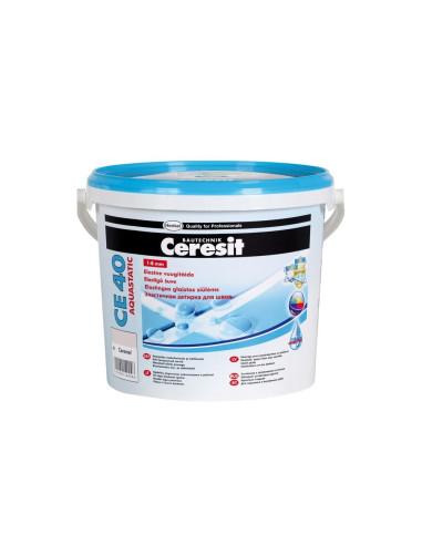 Elastingas glaistas siūlėms CE40 Aquastatic Ceresit 2kg, spalva Polar 85