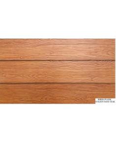 Fibrocementinės dailylentės Shera 2400x200x8, Golden Sand Teak spalva